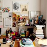 58 Fantastic Art Studio Organization Ideas and Decor (47)