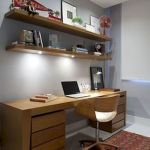 60 Best DIY Office Desk Design Ideas and Decor (54)