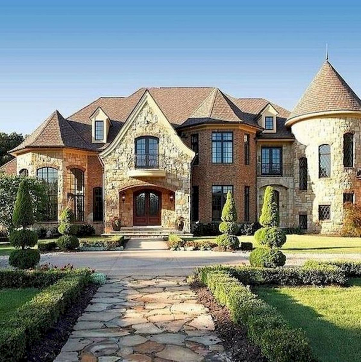 67 Stunning Dream House Exterior Design Ideas (57)