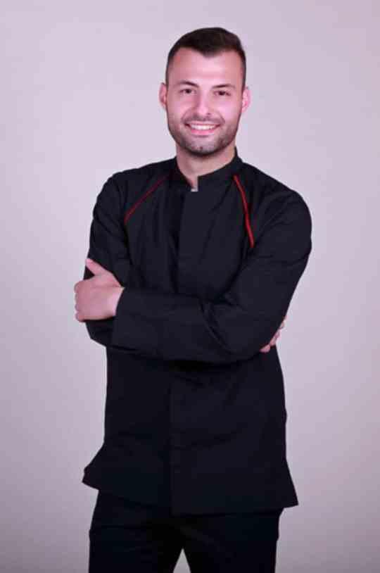 Στολή Chef με μανίκι ρεγκλάν
