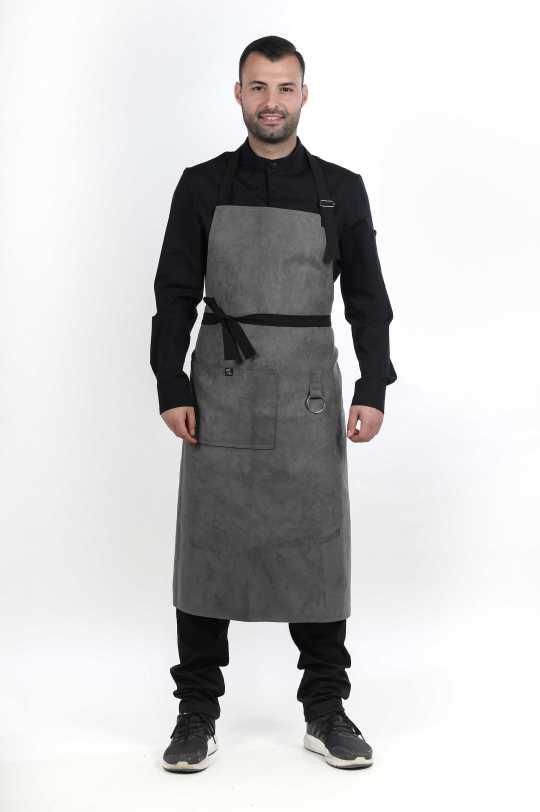 Ποδιές σεφ/μαγείρων Flow/Grey