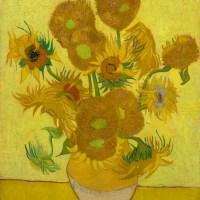 Винсент Ван Гог. Натюрморт: двенадцать подсолнухов в вазе. 1888 г.