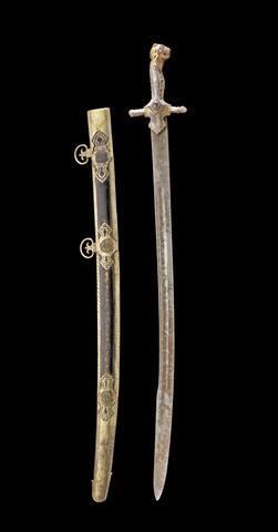 Усыпанный драгоценностями меч Типу Султана
