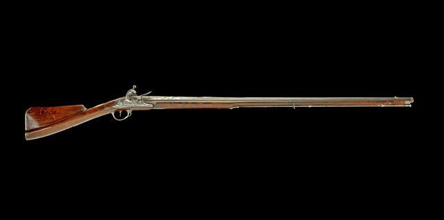 Кремнёвое ружье в серебряной оправе из личного арсенала Типу Султана