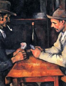 Поль Сезанн. «Игроки в карты», 1892—1893 гг.