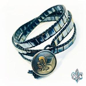 Wrap Bracelet Gunmetal
