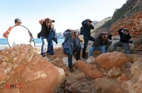 Art Nude Master Class in Las Rotas Beach ( Dénia ) Alicante - Photo: Manuel Torres