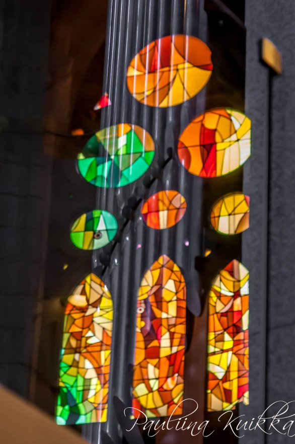 Reflection of windows of La Sagrada Familia (pt. 1)