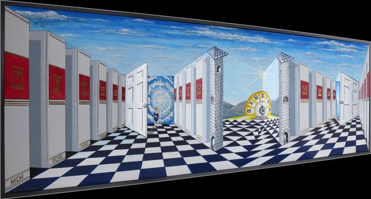 Art Prize 2018: David Stricklen – Art of Adrienne Gelardi