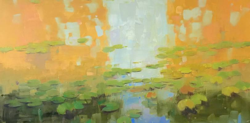 Waterlilies in Fall by Vahe Yeremyan