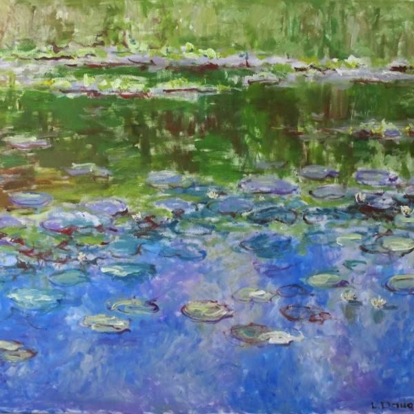 Water Lilies by Liudvikas Daugirdas