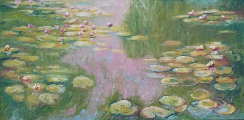 Water Lilies by Emilia Milcheva