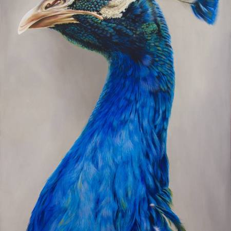 """Original Animal Painting by Claudiu Mladin 