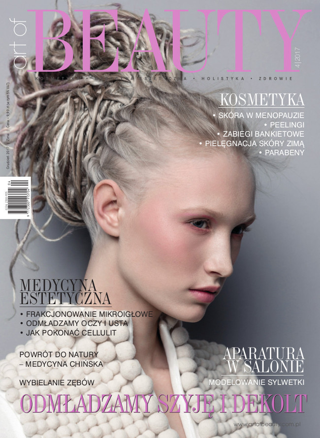Okładka art of BEAUTY 03/2017