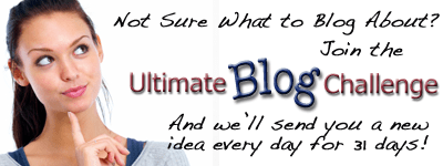 Ultimate Blog Challenge Accomplished!