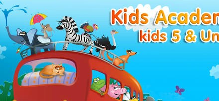 Preschool and Kindergarten Learning App by Kids Academy