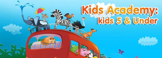 Preschool and Kindergarten Learning App by Kids Academy