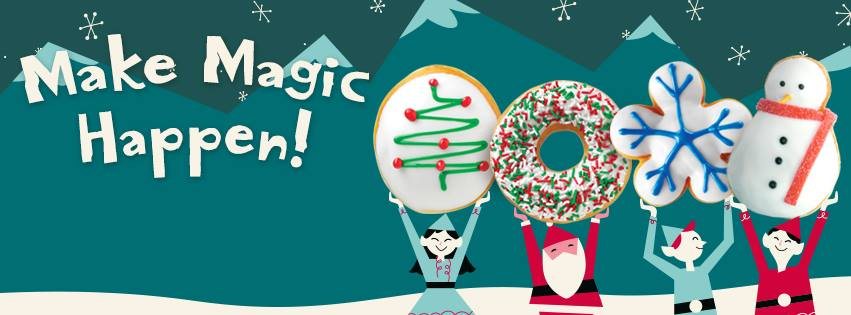 Krispy Kreme Christmas Holiday Donuts