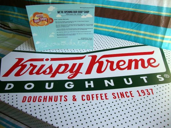 krispy kreme doughnuts 1000th shop smores art of being a mom www.artofbeingamom.com 02