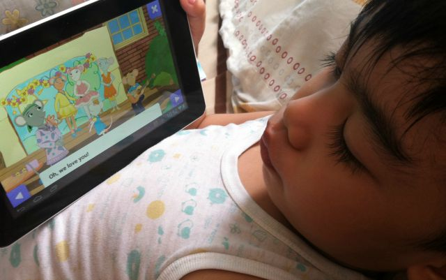 Speakaboos Interactive Childrens Story App & A Giveaway!