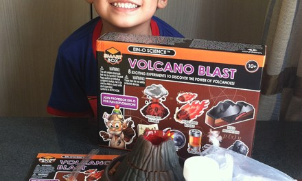 Ogalala Volcano Blast Science Experiment