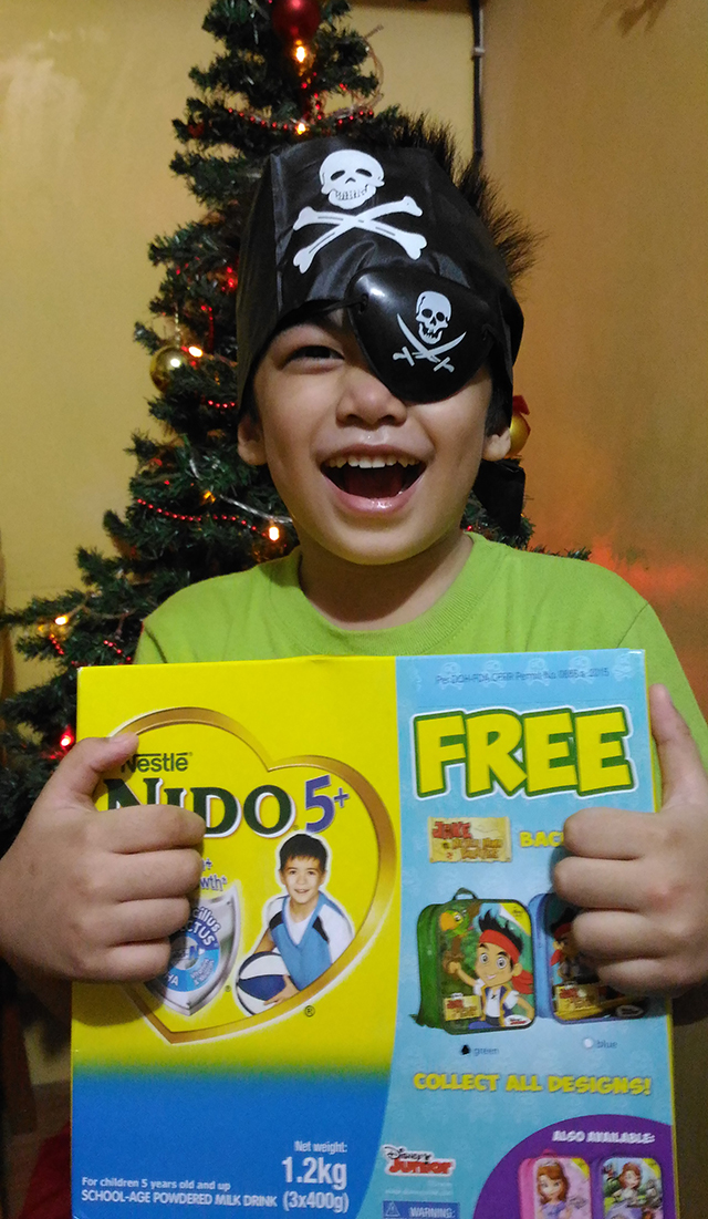 NIDO 5+ milk FREE Jake and The Never Land Pirates Backpack lifestyle mommy blogger www.artofbeingamom.com 01