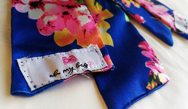A Beautiful Bag with Oh My Bag Handle Wraps and Dust Bag