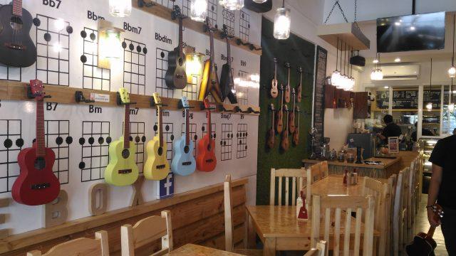 Uke Box Caffe Music Cafe in Eastwood