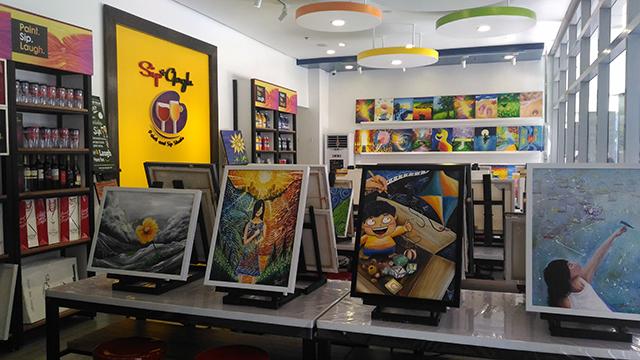 sip n gogh painting lifestyle mommy blogger www.artofbeingamom.com 09