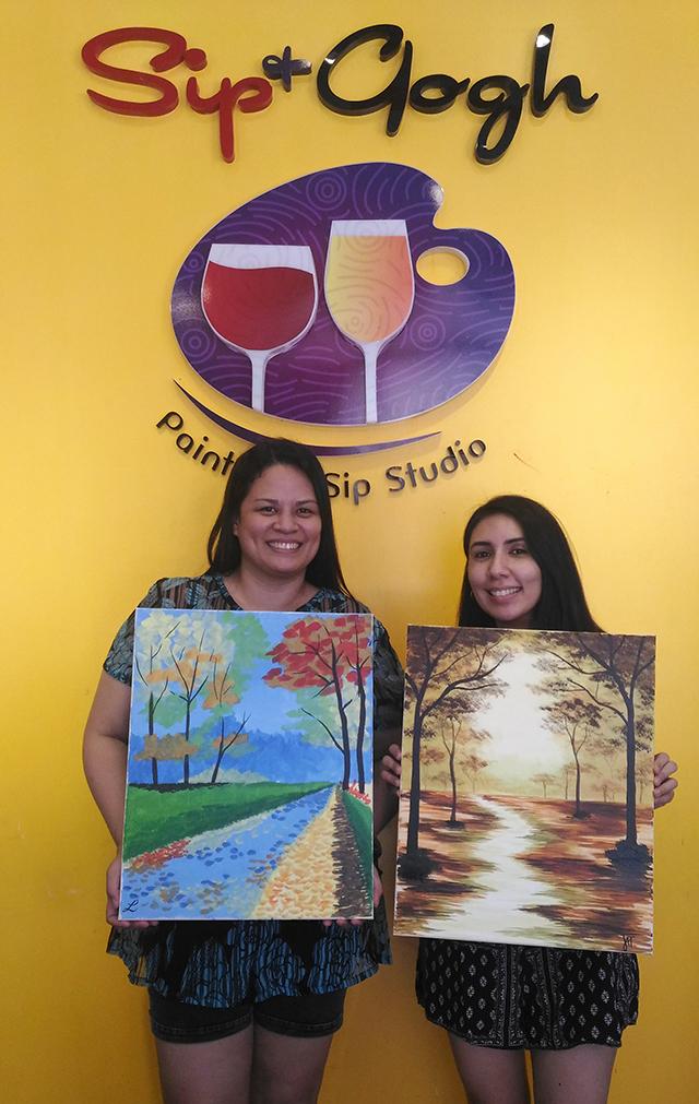 sip n gogh painting lifestyle mommy blogger www.artofbeingamom.com 10
