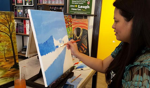 sip n gogh painting lifestyle mommy blogger www.artofbeingamom.com 12