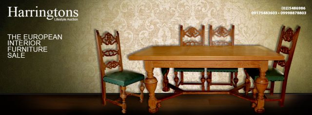 Harrington's Auction: A Touch of European History