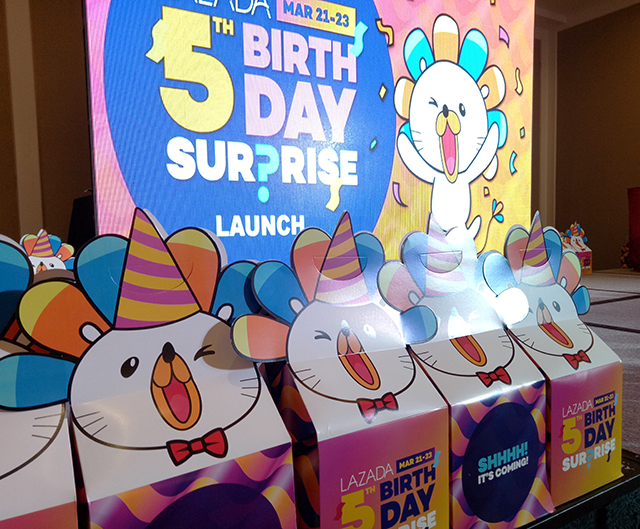b1402ce78967 Lazada Philippines 5th Birthday Surprise is Strongest Year Yet. Online  Shopping