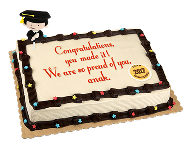 Red Ribbon Launches Limited Time Offer Graduation Cake