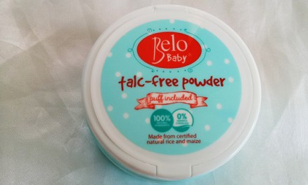 Belo Baby Talc Free Powder Crafted with Care and a Giveaway!