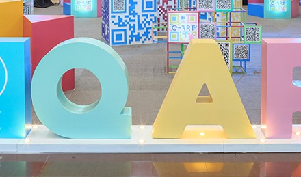 Scan and Enjoy Surprises at the Q Art Exhibit at SM City Fairview