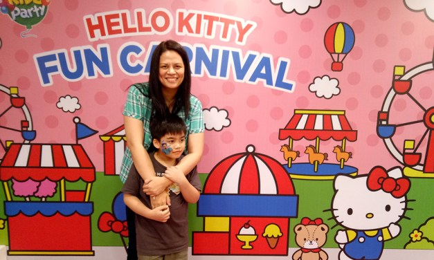 Say Hello to the New Jollibee Hello Kitty Party Theme!