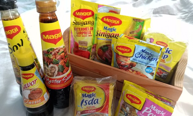 Maggi Seasoning: Oyster Sauce, Soy Sauce and Watermelon Sinigang Recipes