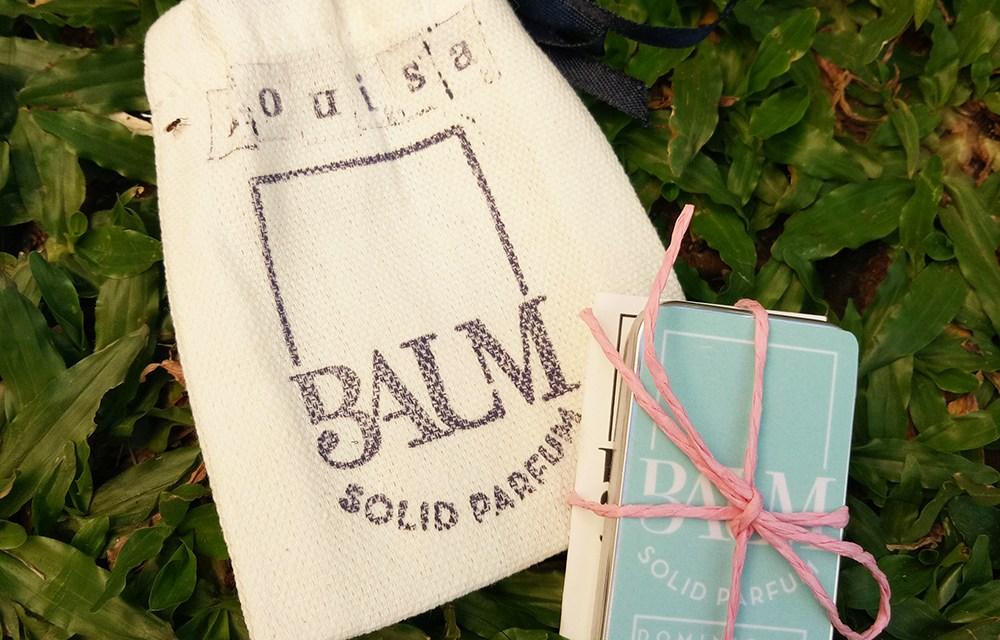 Baum Solid Parfum: Scents in your Pocket