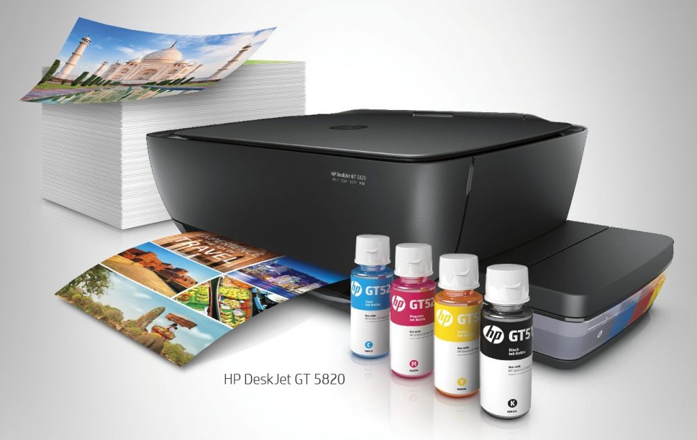 Get P1000 Off and Free Ink with HP Deskjet GT All-in-One Printer Purchase