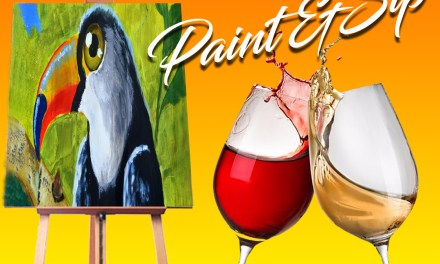 Paint and Sip for Charity: A night full of love for arts and charity
