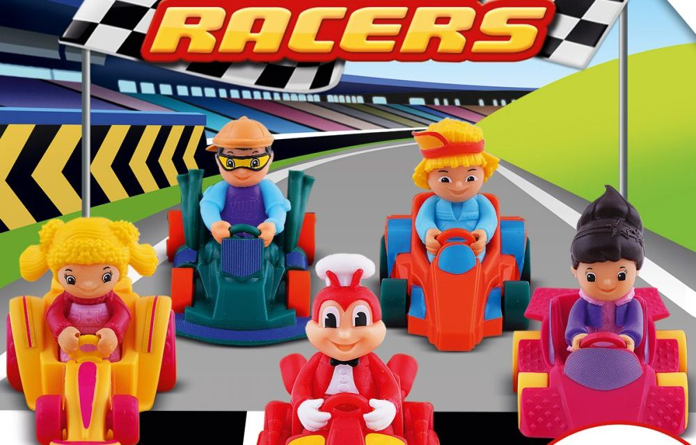 New Kiddie Meal Toy Set Lets Kids Race with Jollibee and Friends