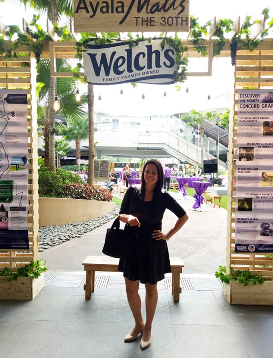 welchs grape juice real fruti juice ayala malls the 30th lifestyle mommy fitness blogger philippines www.artofbeingamom.com 01