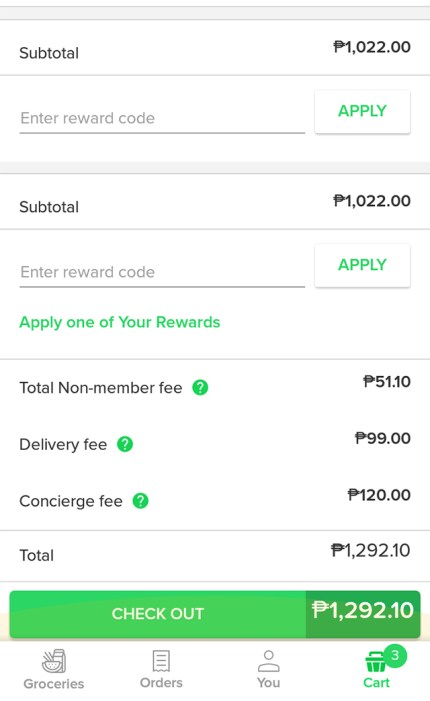 honestbee snr online grocery shopping delivery service lifestyle fitness mommy blogger www.artofbeingamom.com 10