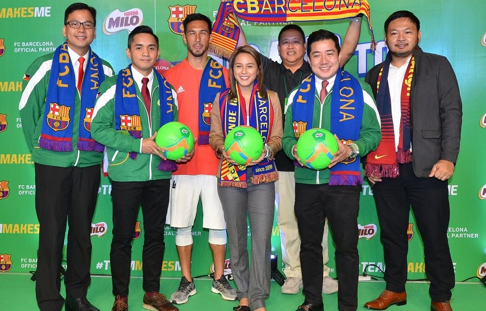 MILO Philippines Launches Road to Barcelona Year 2