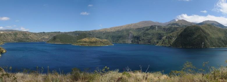 Lagune de Cuicocha (Equateur)