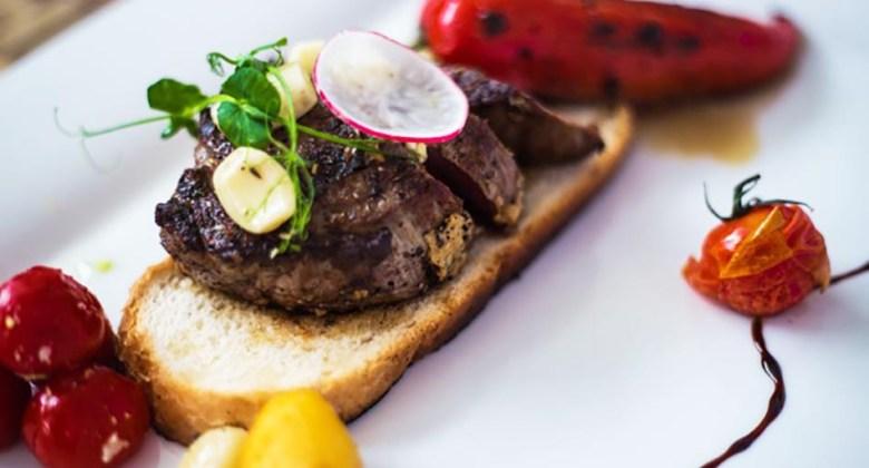 Steak at Bock Bisztró