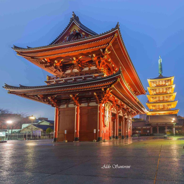 Sensō-ji Temple, Tokyo, Japan