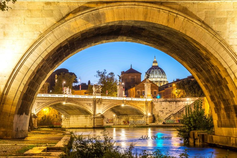 View of Vatican City, Rome, Italy