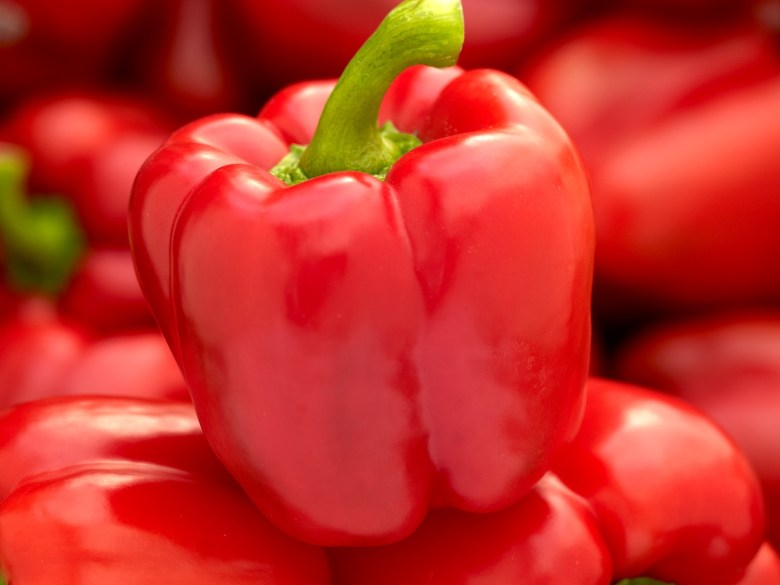 Bell red peppers